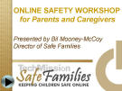 Online Safety Workshop Presentation for Parents